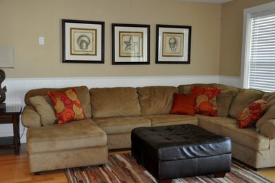 comfy sections sofa in living room