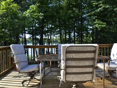 Photo for Sunset Cottage....On private lake in the forest....perfect !