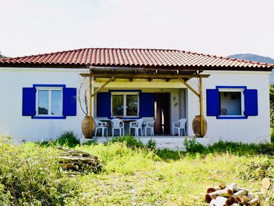 Photo for Eco-friendly, Simple And Rustic One-storey House In Quiet, Unspoilt Open Country