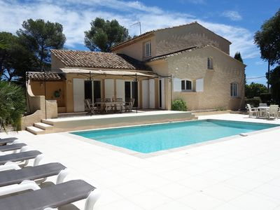 Photo for Villa Abricot, St Raphael, Cote d'Azur. 5 bedrooms - Sleeps 10 with Private Pool