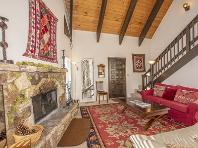 Photo for Bunker: 4 BR / 2 BA house and ski lease in Tahoe City, Sleeps 8