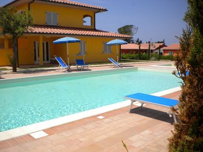 Photo for One bedroom Apartment, sleeps 3 in Casa Botrona with Pool, Air Con and WiFi