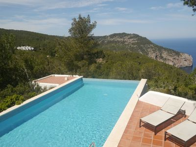 Photo for Superb Modern Villa with Spectacular Sea Views from Hill Top Location