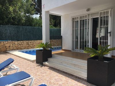 Photo for 3 Bedroom House with private pool in quiet residential area of Albir