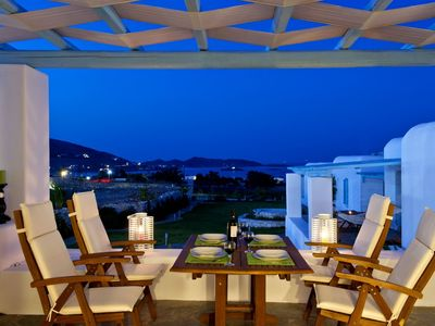 Photo for Villa DeSal, Paros, 2-bedroom 2 Bathrooms modern villa. It is 110m2 and it is suitable for 4 to 6 people.