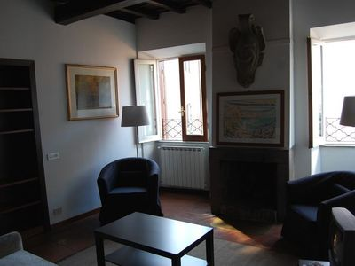 Photo for Apartment 134 m from the center of Rome with Internet, Air conditioning, Lift, Terrace (345972)