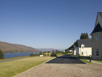 Photo for Superb Ground Floor Apartment With Stunning Views Of Loch Linnhe