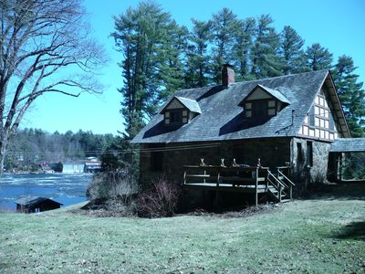 Photo for Historic Lakefront Stone Cottage in Private Setting, Lovely Views