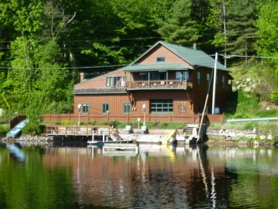 front of house , deck, dock