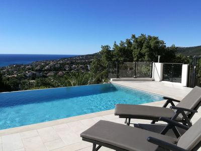 Photo for Lovely apartment for 8 guests with private pool, WIFI, A/C, TV, balcony and parking