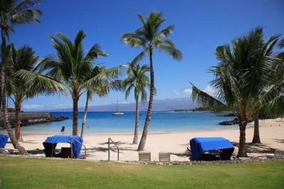 Beautiful walk to this great swimming and snorkeling beach