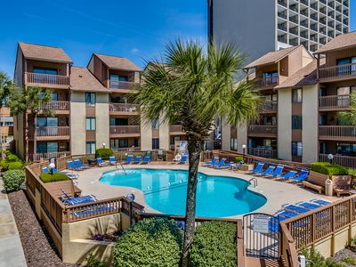 Photo for Large 3 Bedroom 2 Bath Pool and Courtyard View Condo - At The Anchorage I
