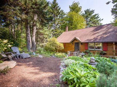 Photo for Sunny Brae, Modern Sprucewold Log Cabin With Beach Access