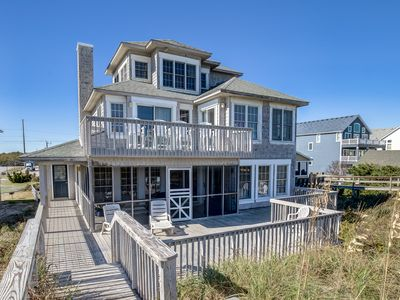 Photo for Looking Glass | Oceanfront | Dog Friendly, Private Pool, Hot Tub
