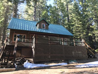 Photo for New! Serene Strawberry Mountain Cabin - minutes to Pinecrest and Dodge Ridge