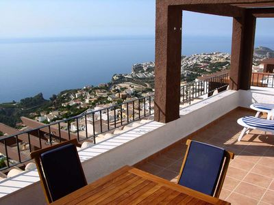 Photo for Superb Apartment With Magnificent Sea Views From Terrace & Infinity Pools