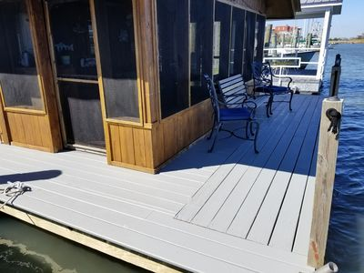 Photo for 1BR House Boat Vacation Rental in Apalachicola, Florida
