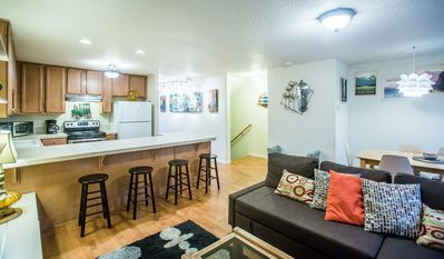 Photo for Townhome with a view in historic downtown Troutdale
