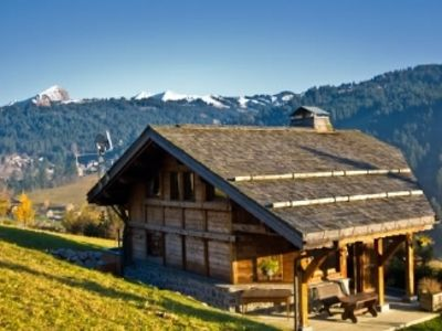 Photo for 5 Star Chalet with Superb Views and Hot Tub on Deck