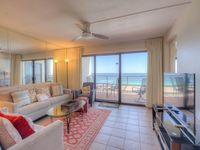 Very nice and clean condo. Beach is just outside your door
