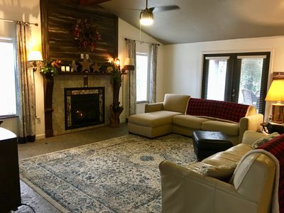 Photo for Sleeps 14.Lake House  with Golf Cart. 2000 sq ft. Tournament fisherman welcome.