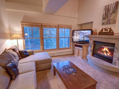 Photo for 2 KINGS @ Jack Pine 8008 Facing the Creek, Short walk to the slopes, FREE WIFI, Hot Tub by SummitCove Lodging