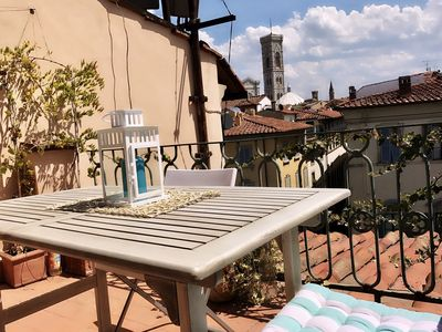 Photo for Heart of Florence with amazing terrace