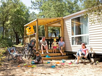 Photo for Camping Signol ***** - Mobil home Loggia 3 rooms 6 persons
