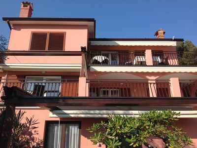 """Photo for HAUS """"BEPI""""n with 3 apartments (11 beds) is on a steep hillside..."""