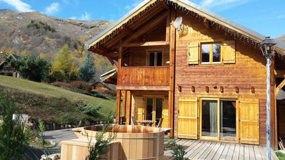 Photo for charming cottage for 10 persons with Norwegian bath, 3 ears
