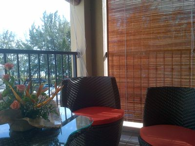 Photo for Modern apartment with sea view F / Flac, cross the road and you are at the beach
