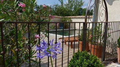 Photo for Beautiful house full foot. Beautiful garden and enclosed swimming pool (sleeps 6)