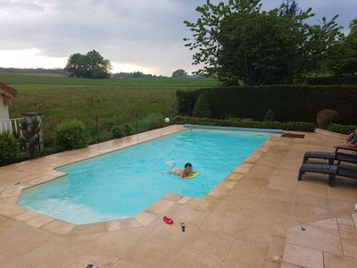 Photo for House with heated pool near Annecy and Geneva
