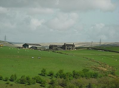 View of the farm from Whittaker Golf Club