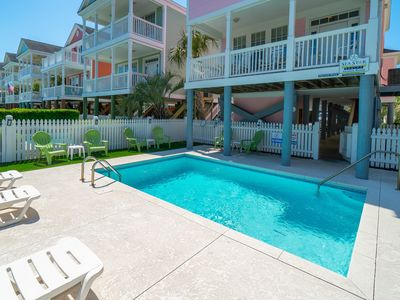 Photo for *SUMMER PROMO* Home 1 Block from Beach w/ Pool & Free WiFi
