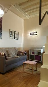 Photo for Studio apartment in the center of Paris with Internet, Washing machine (373852)