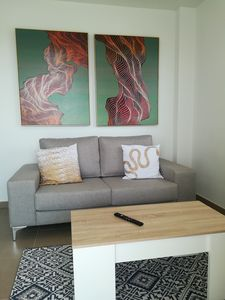 Photo for New apartment with large pool, near the beach, air conditioning and wifi