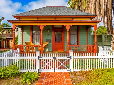 Photo for 20% OFF APR - Historic Beach Cottage w/ Outdoor Living & Walk to Beach