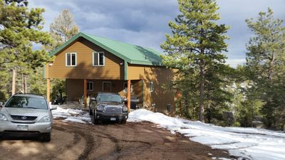Photo for Beautiful Mountain Cabin with Teepee on 37 Secluded Acres