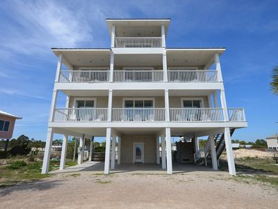 Photo for GORGEOUS COASTAL VIEWS of the Gulf of Mexico and Apalachicola Bay.