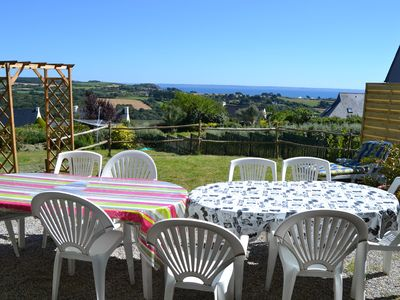 Photo for House sea view - Great beach of Aber at 1. 5 Km