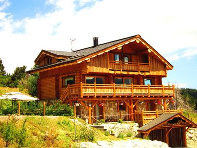 Photo for luxury chalet, VERY ESTELLES Font-Romeu, 7 bedrooms, 260 m2