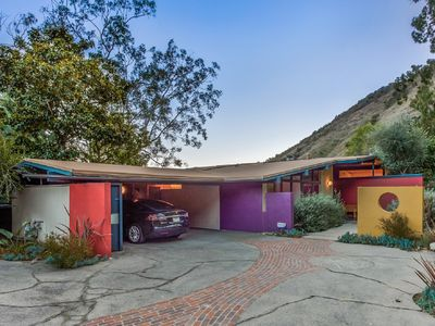 Photo for Hollywood Hills Mid-Century House w/ City Views