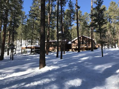 Photo for Upper Canyon Cabin in the Woods built in 1940!
