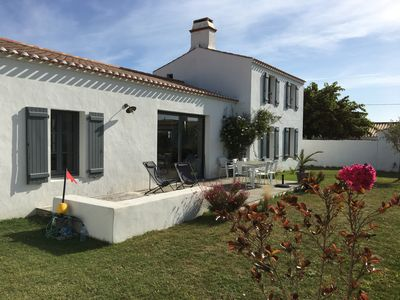 Photo for island of Noirmoutier, Le Vieil, beautiful house 4 bedrooms (sleeps 8) near the beach