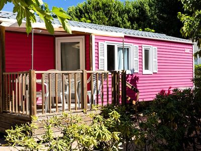 Photo for Camping Sablines **** - Cottage Clim 3 Rooms 4/6 People