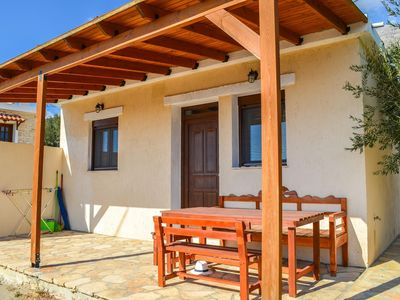 Photo for Cottage in the countryside with pool, close to the sea, Wifi | Triopetra, Crete