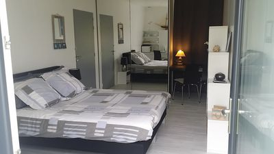 Photo for Spacious room on the GR34 pink granite coast