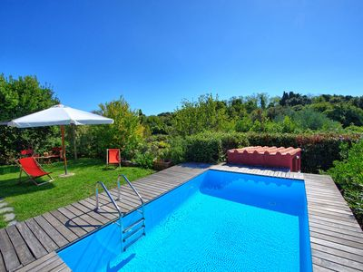 Photo for Sweet villa with private pool and 2 bedrooms located in Monte Marcello