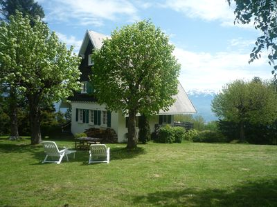 Photo for House atmosphere chalet, panoramic-view Belledonne